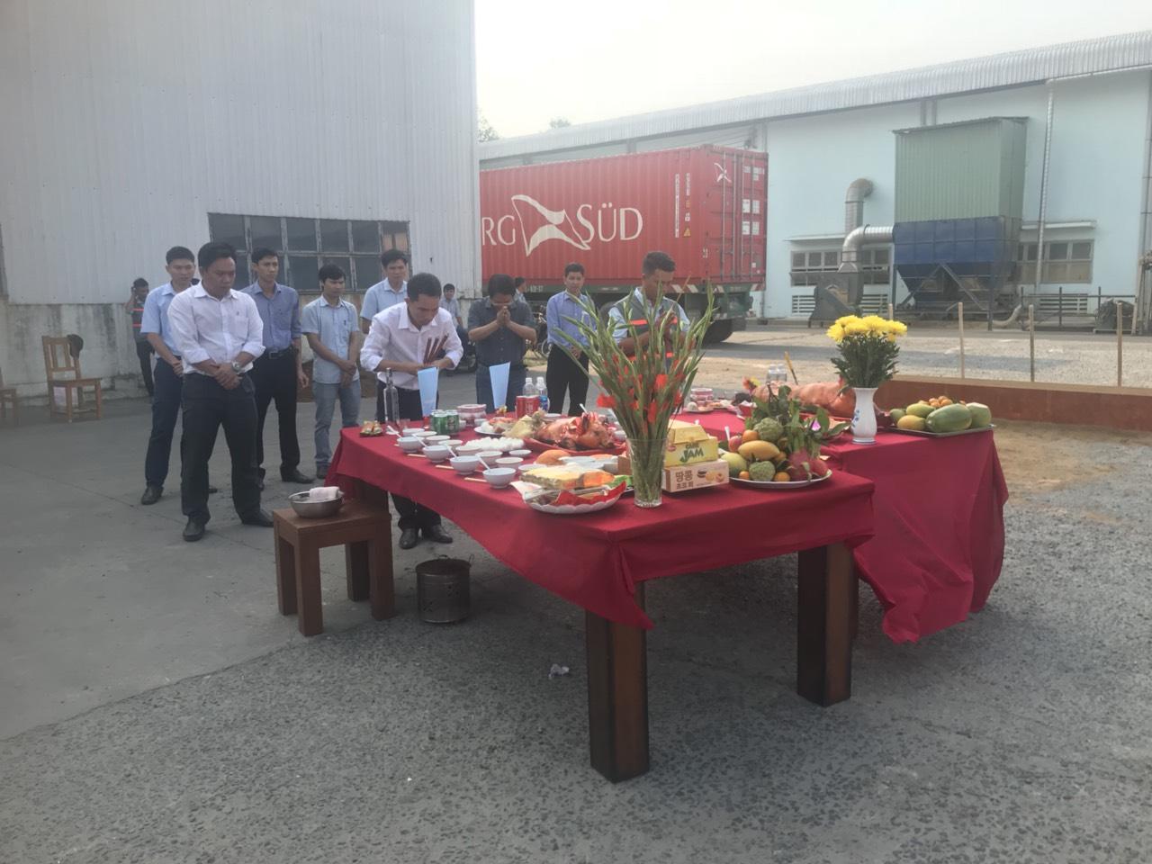 Lễ Khởi Công Nhà Máy Gỗ Phú Tài Đồng Nai 3