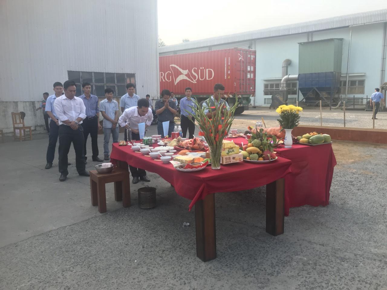 Lễ Khởi Công Nhà Máy Gỗ Phú Tài Đồng Nai 2