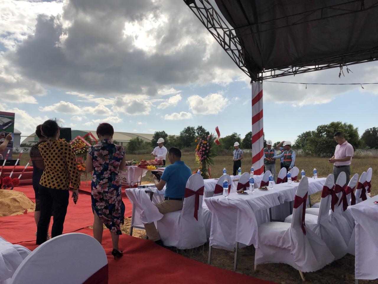 Lễ Khởi Công Nhà Máy Thanh Long 2
