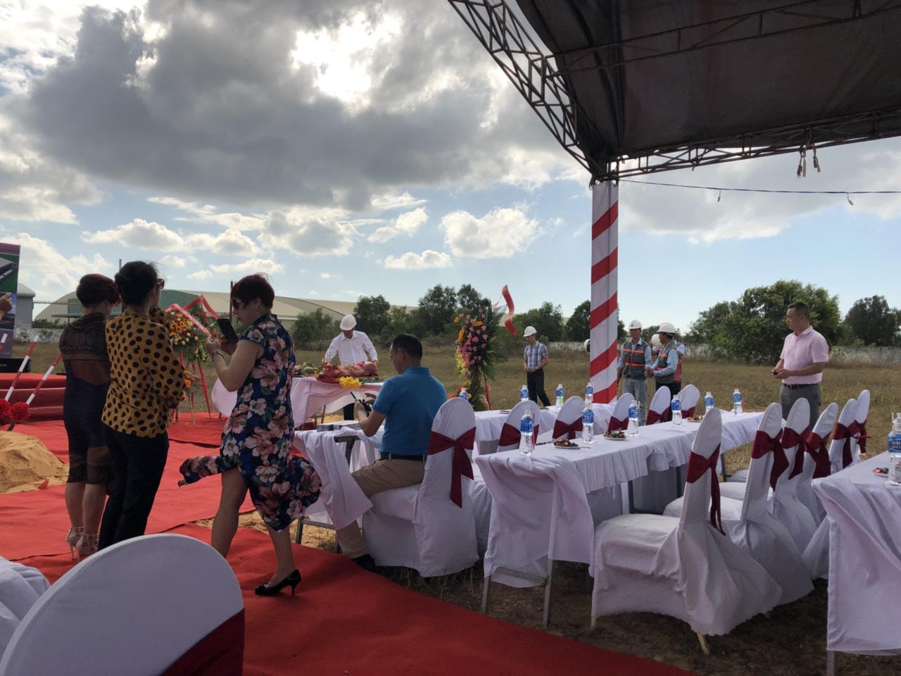 Lễ Khởi Công Nhà Máy Thanh Long 4