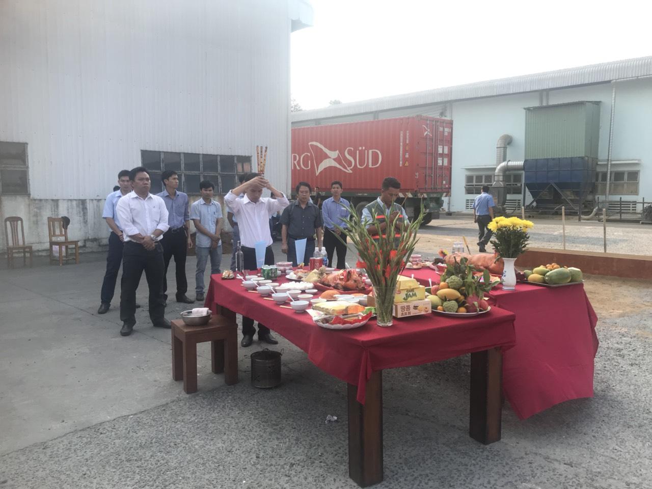 Lễ Khởi Công Nhà Máy Gỗ Phú Tài Đồng Nai 5
