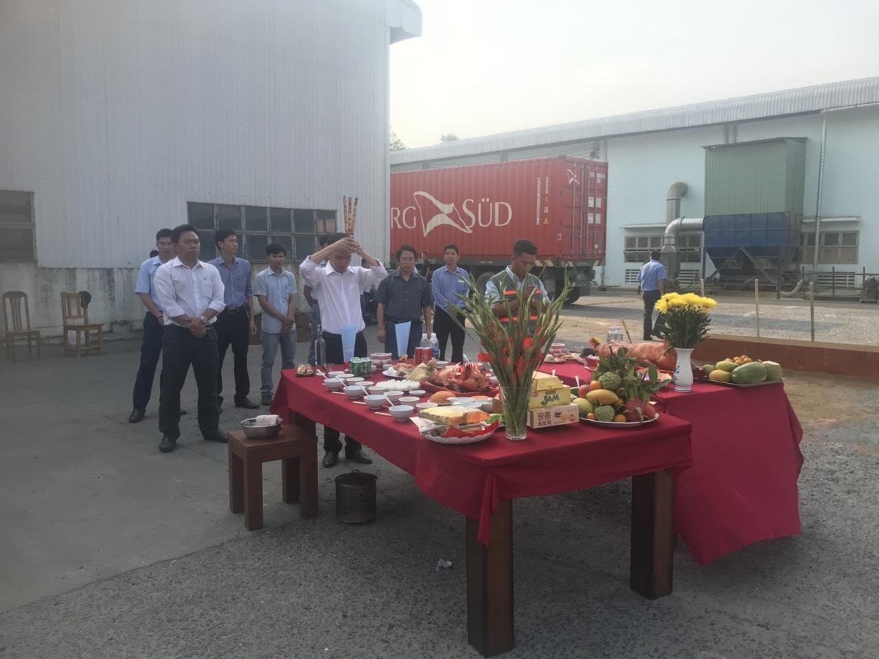 Lễ Khởi Công Nhà Máy Gỗ Phú Tài Đồng Nai 6