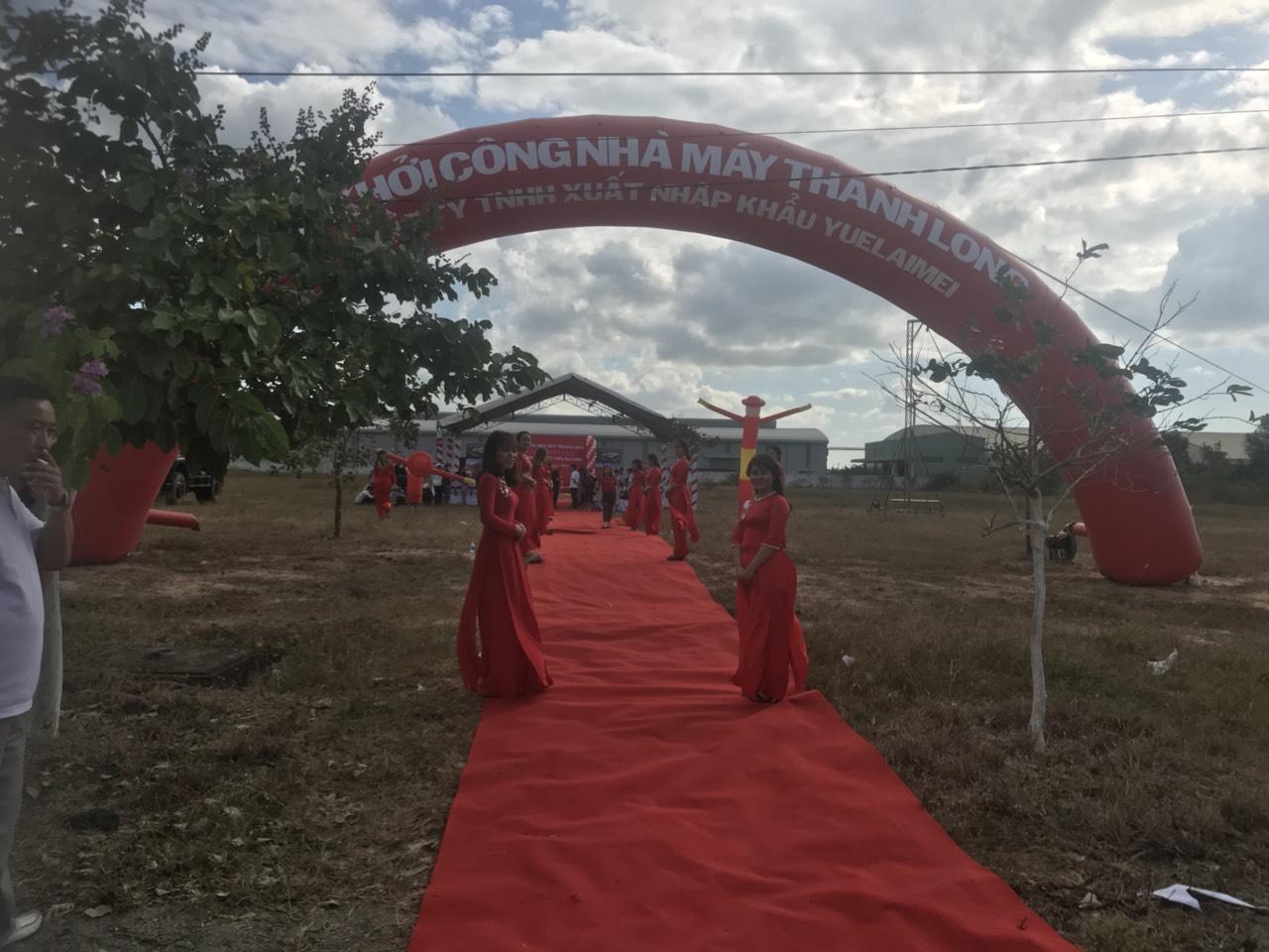 Lễ Khởi Công Nhà Máy Thanh Long 14