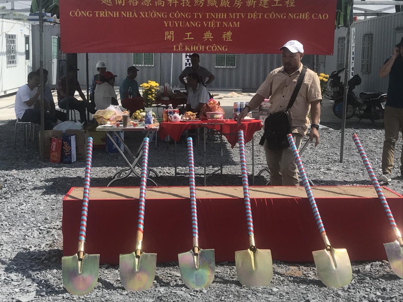 Lễ Khởi Công Nhà Máy YuYang Việt Nam 3