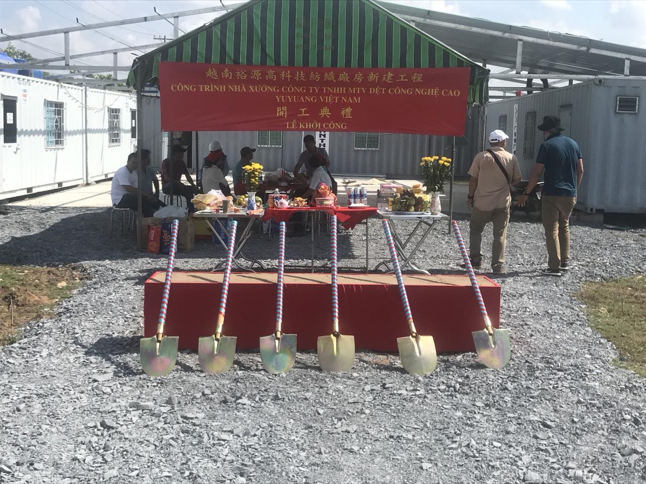 Lễ Khởi Công Nhà Máy YuYang Việt Nam 4